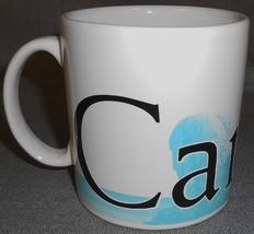2009 18 oz Starbucks CANCUN Large Handled Mug - $19.79