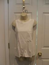 New In Pkg AVON/NEWPORT News 100% Cotton Sleeveless Tunic Top Xsmall - $9.64
