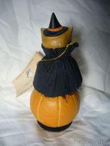 Bethany Lowe Hoot Owl on Jack O Lantern Halloween Piece image 3