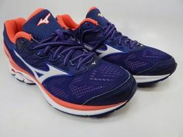 Mizuno Wave Rider 21 Size 7.5 M (B) EU 38 Women's Running Shoes Purple Pink