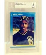 1987 Fleer Barry Bonds Beckett 8 NM-MT #604 - $14.99