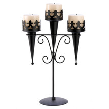 Medieval Triple Candle Stand - $22.99