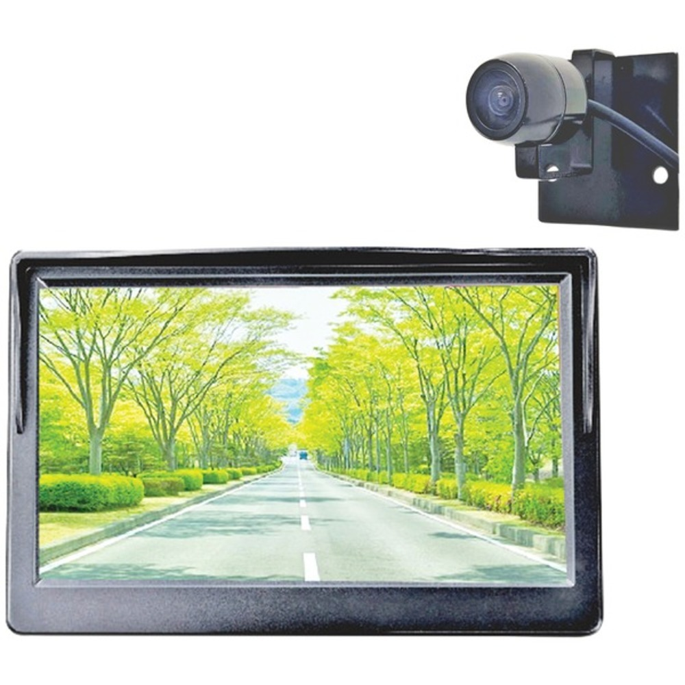 Primary image for BOYO Vision VTC500DIY DIY 5-Inch Rearview Monitor and Compact Bracket-Mount Behi