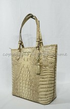 NWT! Brahmin Asher Tote / Shoulder Bag in Sand Melbourne Croc Embossed L... - $269.00