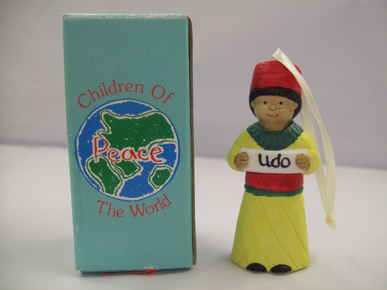 Children Of The World UDO PEACE Ornament Africa Decorative Figurine by Papel