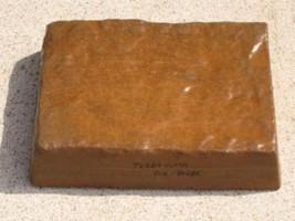 775-01 Terra Cotta Concrete Cement Powder Color 1 lb. Makes Stone Pavers Bricks image 2