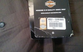 Harley Davidson Men's Woven Short Sleeve Skull Shirt 96521-112Vm 000s small image 2