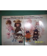 Pair of 1980's Fisher Price My Friend Dolls Articles Ads ~ Mandy + - $0.00