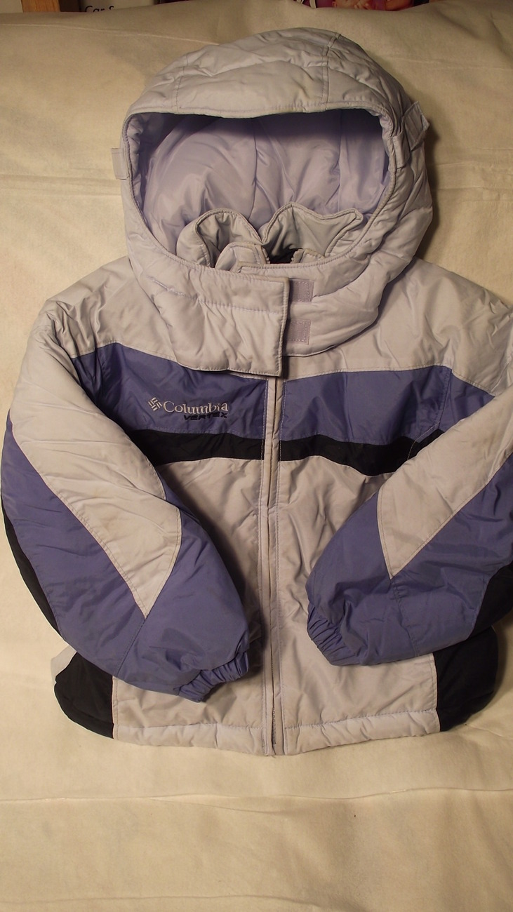 Columbia girls 4/5 jacket