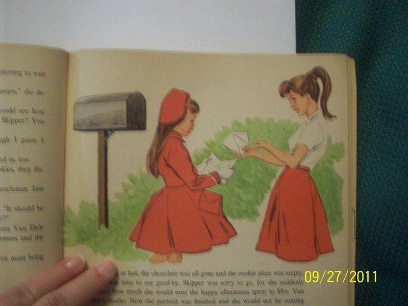 Vintage Portrait of Skipper Doll Book Barbie Sister Storybook
