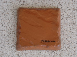 775-05 Terra Cotta Concrete Powder Color 5 Lbs. Makes Stone Pavers Tiles Bricks image 6
