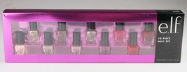 New E.L.F. Mix and Match Gorgeous Nail Colors 10 Piece Nail Polish Set NIB