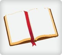 Open Bible Edible Image Cupcake Topper - $12.00