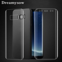 Front Back Soft Screen Protector For Samsung Galaxy Note 9 8 S9 S8 plus S7 Edge  - $14.64