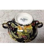Vintage, Royal Winton Grimwades, Variant Gaudy Blue Willow Bouillon Cup - $56.95