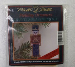 1990 MILL HILL- Holiday Ornament Counted Glass Bead Kit  TOY SOLDIER H11 - $9.90