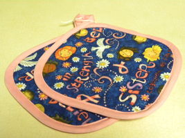 Pink For The Cause Pot Holder Set - $6.50