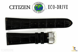 Citizen Eco-Drive CB0010-02E 23mm Black Leather Watch Band S067405 S073294 - $61.15