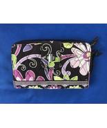 Vera Bradley Paisley Floral Zip Around Wallet - $5.93