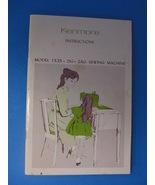 KENMORE INSTRUCTION MANUAL- MODEL 1525 - $15.75