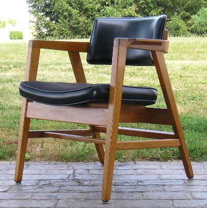 Danish Modern Armchair Gunlocke Chair 1968 A+Condition