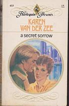 A Secret Sorrow (Harlequin Presents, No. 433) [Paperback] Karen Van Der Zee