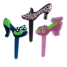 Shoe Jewel Puffy Pks Ast - $5.25