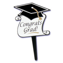 Large Congrats Grad Pick - $6.75