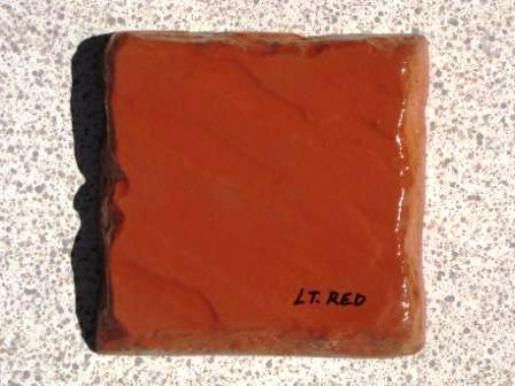 1 LB. LIGHT RED POWDER TO COLOR CONCRETE, CEMENT, PLASTER, GROUT, BRICK VENEER