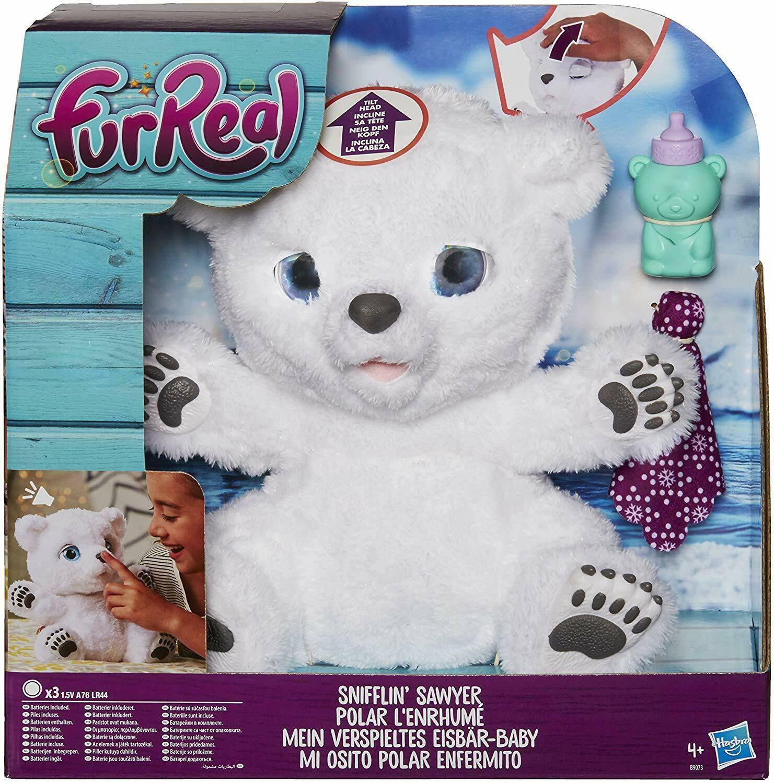 FurReal Friends Snifflin' Sawyer Polar Bear - $53.93