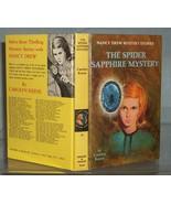 Nancy Drew #45 The Spider Sapphire Mystery Vint... - $6.49
