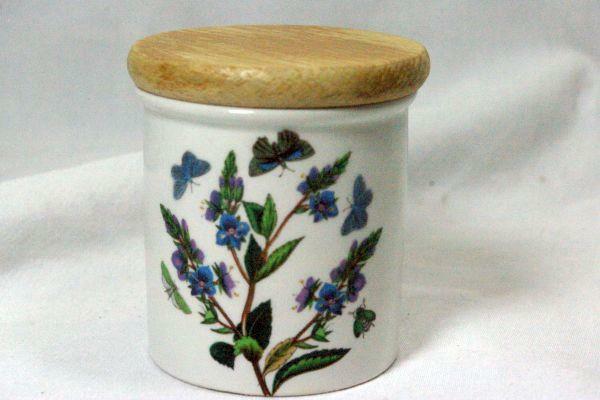 Portmeirion 2017 Botanic Gardens Veronica Chamaedrys Speedwell Small Spice Jar - $13.85