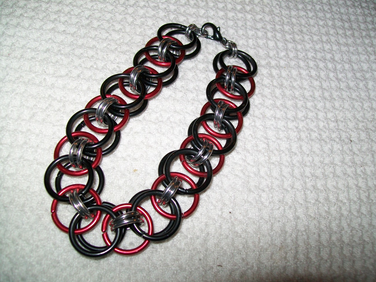 Manly Helm Chainmaille Bracelet