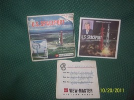 Vintage 1960s GAF View-Master U.S. Spaceport Kennedy Space Center Full Set  - $24.95
