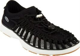 KEEN Corded Slip-On Shoes Uneek 02 Black 8W NEW A304371 - $77.20