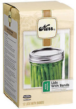 Wide-Mouth Canning Jar Caps, 12-Pk - $19.79