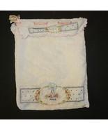 Vintage Hanky Hosiery Bag Handcrafted Cotton Em... - $8.00