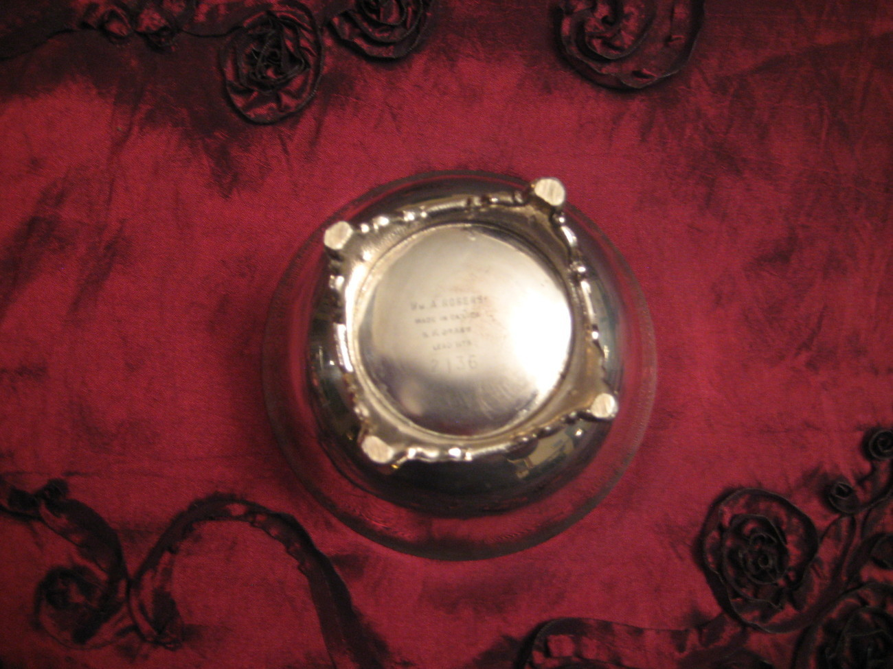 Vintage Silverplate Wm.A. Rogers Small Bowl