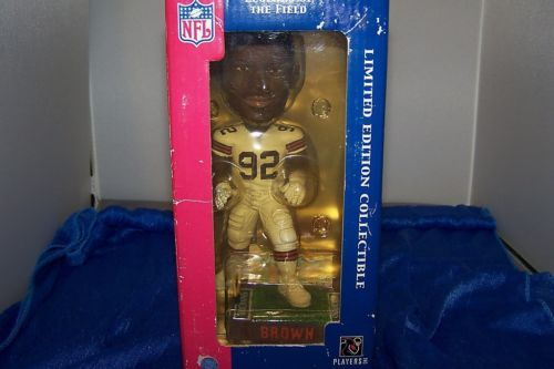 NFL Cleveland Browns Courtney Brown #92 Action Figure