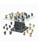 Black Tower DRAGON CHESS SET  glass chess board  - $119.89