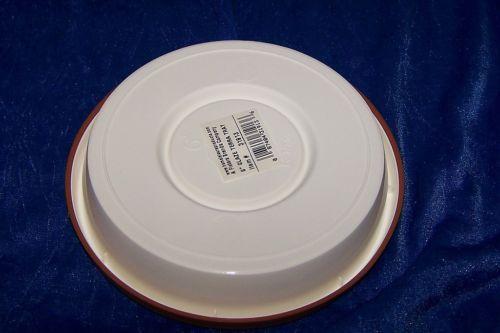 "New 6"" Glaze Terra Drip Tray For Flower Pots Plastic"
