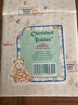 Cherished Teddies Bear Figurine Prudence 1993 A Friend To Be Thankful For 912808 - $18.50