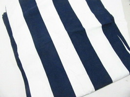 Pottery Barn Classic Wide Stripe Navy Blue White Nautical Twin Duvet Cover - $72.00