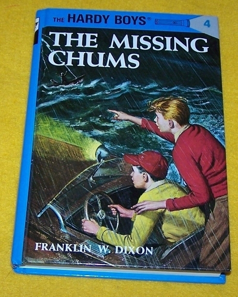 Vintage Hardy Boys Book The Missing Chums #4 Franklin Dixon