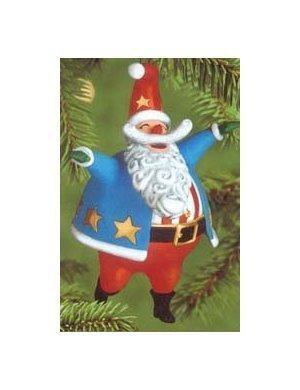 Hooray For The Usa 2000 Hallmark Ornament Santa Santa