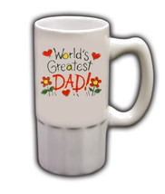 Personalized Custom Photo Father's Day Beer Mug Gift #3 - $19.99