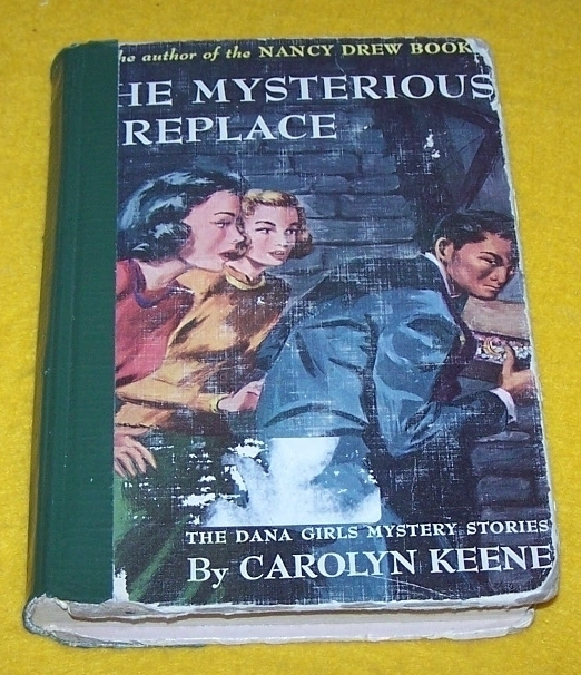 Vintage Nancy Drew Book  The Mysterious Fireplace