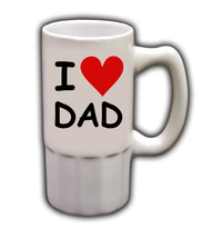 Personalized Custom Photo Father's Day Beer Mug Gift #5 - $19.99