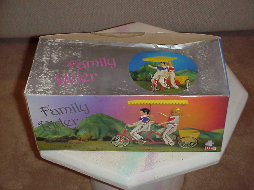 Toy  family rider  sa1