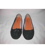 Nice Womens Size 8.5 BEAR TRAPS Black Leather Suede Mary Janes Flats Shoes - $48.19